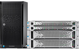 Новые Rack и Tower серверы HP Proliant Gen9