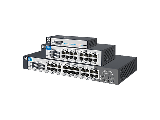 Коммутаторы HPE OfficeConnect 1410