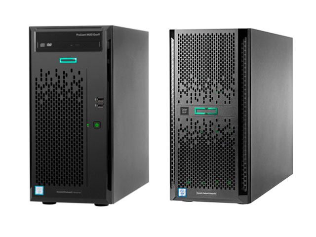 Башенные серверы HPE ProLiant ML Gen10 Tower