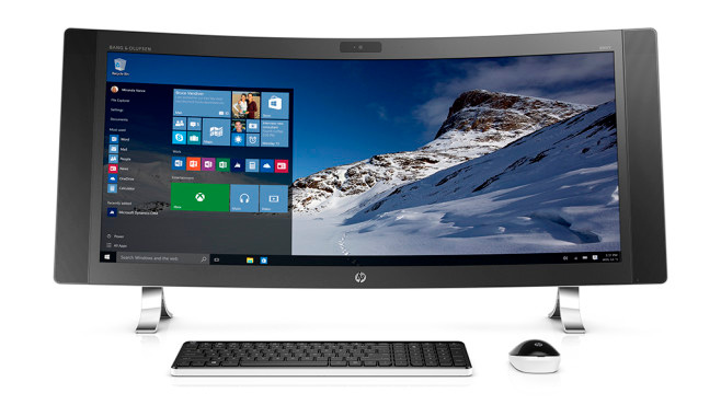 моноблок HP Envy Curved All-in-One